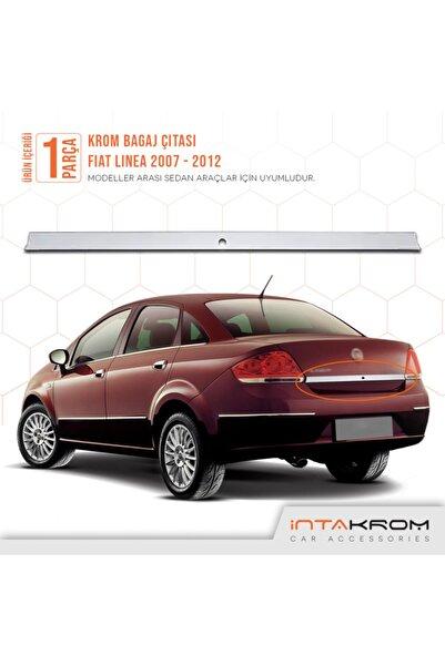 İntachrom Fiat Linea Krom Bagaj Çıtası 2007 -2012 - Sensörlü
