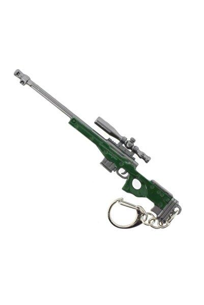 PUBG Yeşil Metal Keskin Nişancı Tüfeği Anahtarlık