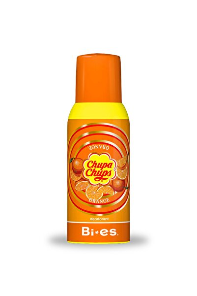 BIES Chupa Chups Orange Kids Deodorant 150 Ml Portakal Aromalı Çocuk Deo Sprey