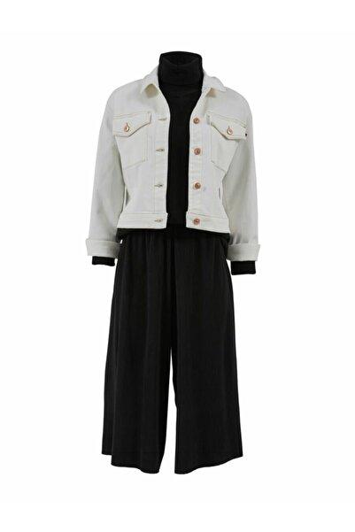 Ltb Kadın Jean Ceket
