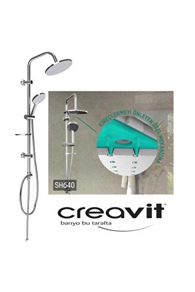 Creavit Sh640 Yağmurlama Robot Tepe Duş Başlığı Seti *ücretsiz Kargo*