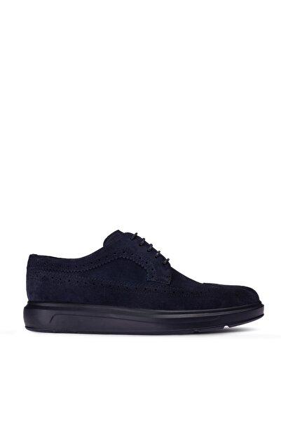 Deery Erkek Mavi Hakiki Süet Comfort Günlük Ayakkabı