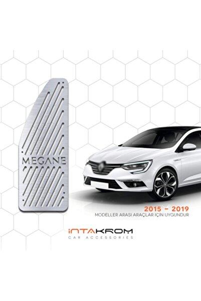 İntachrom Renault Megane 4 Krom Ayak Dinlendirme Pedalı - 2015 - 2019