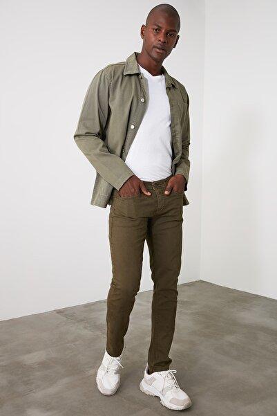 TRENDYOL MAN Haki Erkek Skinny Pantolon TMNAW21PL0327