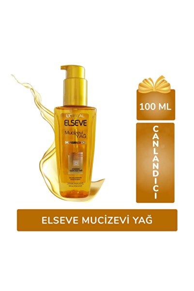 ELSEVE Canlandırıcı Mucizevi Yağ 100 Ml-saç Canlandırmaya Yardımcı Ürün