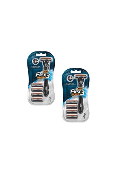 Bic Flex 3 Hybrid Tıraş Bıçağı 4+1 X 2 Adet