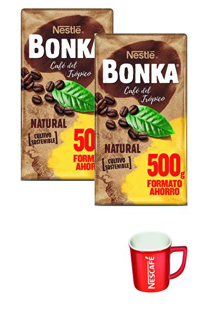 Nestle Bonka Filtre Kahve 500 G X 2 + Kupa Bardak Hediye