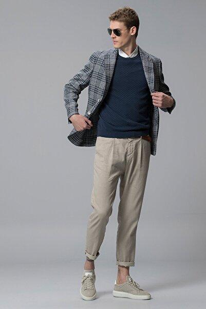 Lufian Portimao Spor Blazer Ceket Slim Fit Lacivert