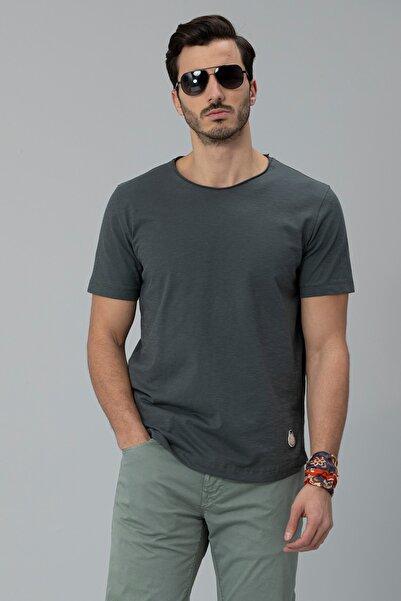 Lufian Jim Modern Grafik T- Shirt