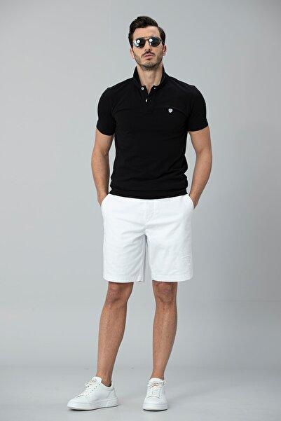 Laon Spor Polo T- Shirt Siyah