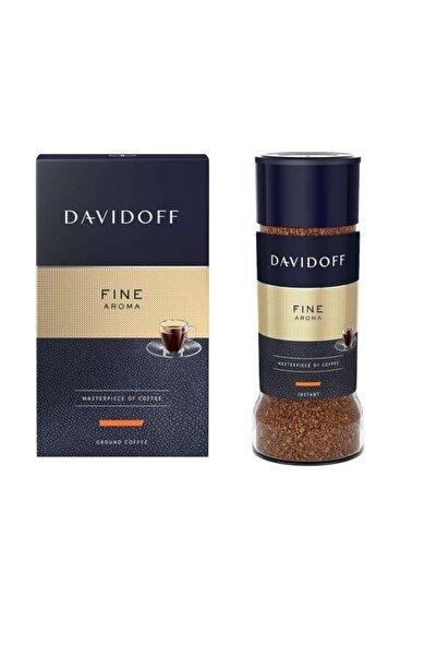 Davidoff Fine Serisi - Öğütülmüş Filtre Kahve 250g - Çözünebilir Kahve 100g