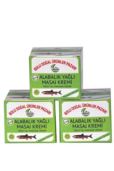 BDUP Bolu Doğal Ürünler Pazarı Alabalık Yağlı Masaj Kremi 3 Adet