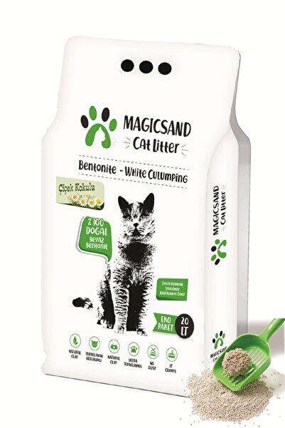 magicsand Çiçek Kokulu İnce Taneli Kedi Kumu 20 lt