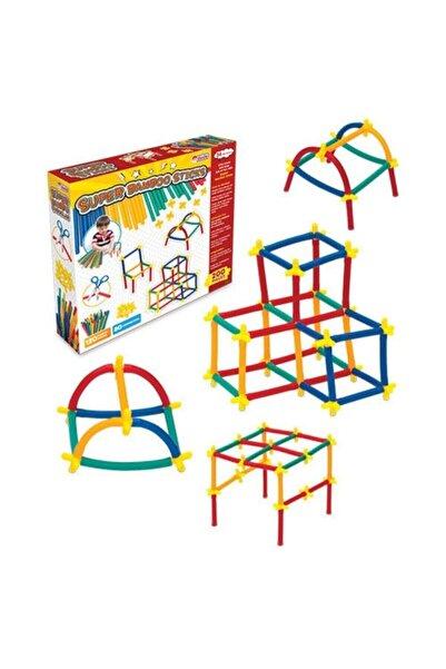 DEDE Toys 200 Parça Eğitici Süper Bambu Çubuklar