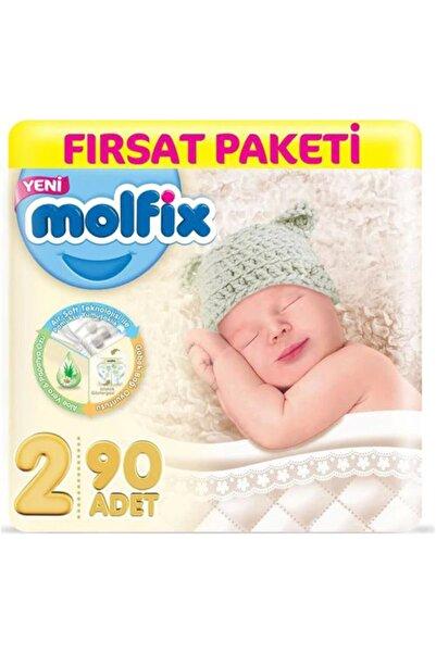 Molfix Bebek Bezi 2 Beden 3d Mini 90'lı Fırsat Paketi