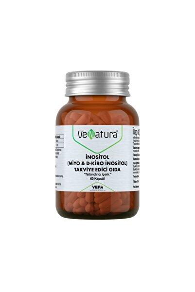 VeNatura Inositol (miyo & D-kiro Inositol) 60 Kapsül