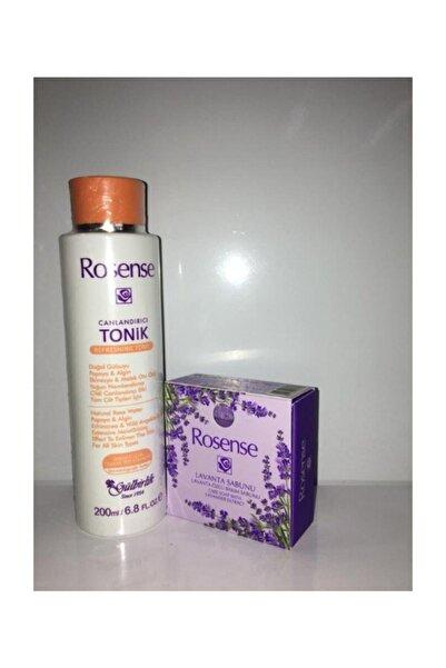 Rosense Canlandırıcı Tonik+lavanta Sabunu 2'li Set