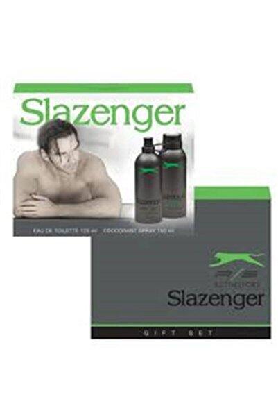 Slazenger Edt Erkek 125 Ml + Deodorant 150 Ml Activesport Yeşil