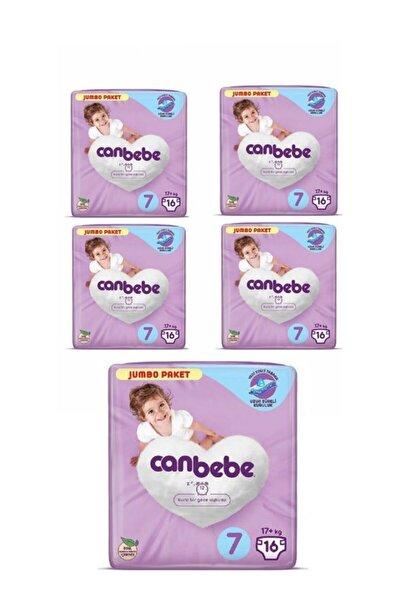 Canbebe Jumbo Paket 7 Numara 80 Adet