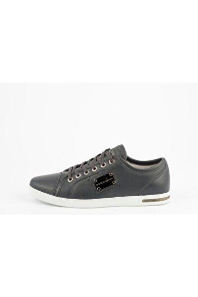 Dolce Gabbana Erkek Gri Sneakers