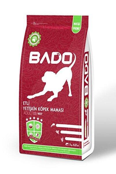 Bado Etli Yetişkin Köpek Maması 3 Kg