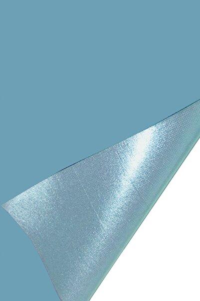 direkt-al Yapışkanlı Süet Kadife Kumaş 45x100 Cm. Mavi