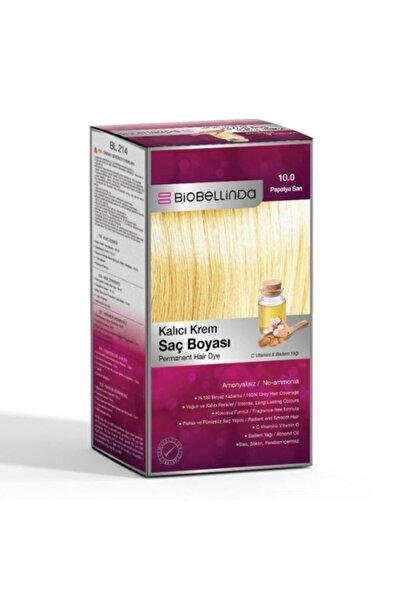 BioBellinda Saç Boyası 10.0 Papatya Sarı