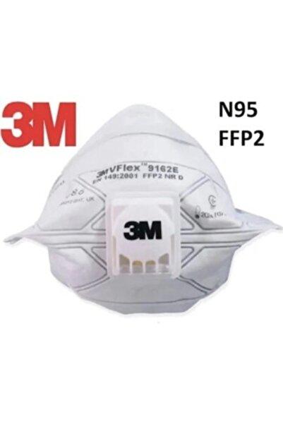 3M 9162e Vflex Ffp2 Ventilli Maske (15 Adet)