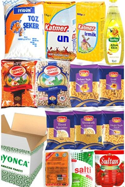 Yonca Ramazan Erzak Yardım Paketi Kolisi 14 Adet No:10