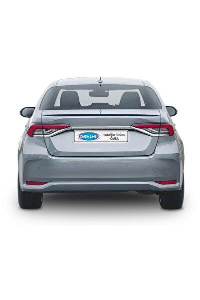 OmsaLine Toyota Corolla Sd 2019- Spoiler Bagaj Üstü Oem Boyasız Abs 1.sınıf Kalite