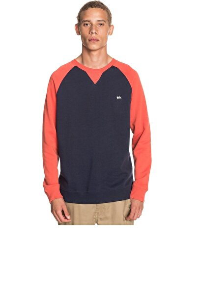 Quiksilver Erkek Lacivert Sweatshirt