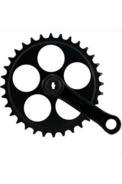 ÇINARHANMOTOR Doğa Çocuk Bisikleti Aynakolu 36t / 140mm Siyah