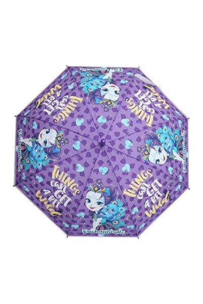 Enchantimals Unisex Çocuk Mor Otto Lisanslı Şemsiye