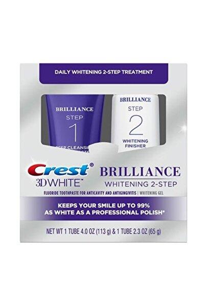 CREST 3d White Brilliance 2 Adımlı Beyazlatıcı Diş Macunu