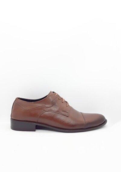 Şahin Erkek Koyu Kahverengi  Klasik Ayakkabı