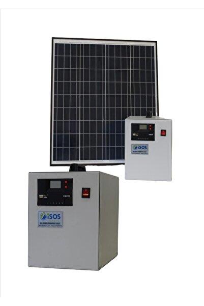 isos enerji 480 Watt Güneş Enerjili Televizyon Ve Aydınlatma Sistemi