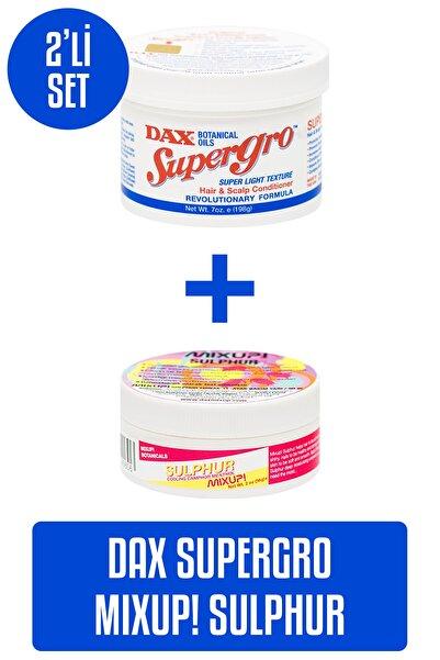 Dax Supergro 198 G - Yavaş Uzayan Saçlara Özel Saç Bakım Yağı + Mixup! Sulphur 56 G - Tırnak Bakım Yağı