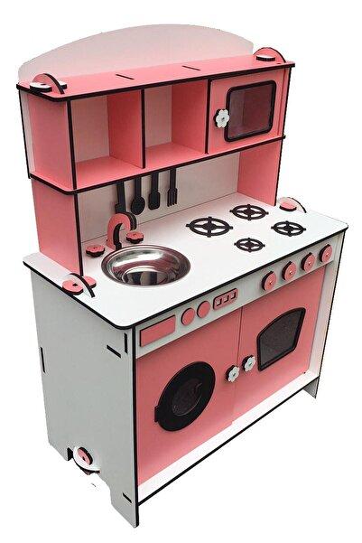 Tahtakurusu Tasarım Ahşap Çocuk Oyun Mutfağı