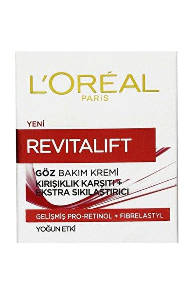 L'Oreal Paris Kırışıklık Karşıtı & Sıkılaştırıcı Göz Kremi - Revitalift Eye Cream 15 Ml 3600523303502