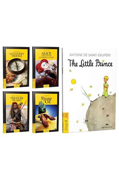 MK Publications Ingilizce Hikaye Kitabı Seti Stage 2 (5 Kitap) + Ses Dosyası