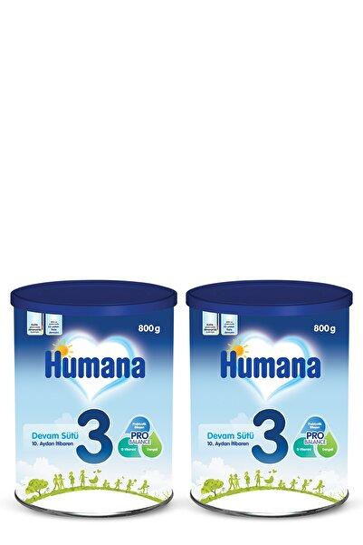 Humana 3 Bebek Maması Metal Kutu 800 gr x 2 Adet