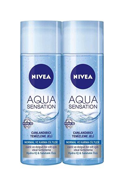 Nivea Aqua Sensation Temizleme Jeli 200 Ml X 2