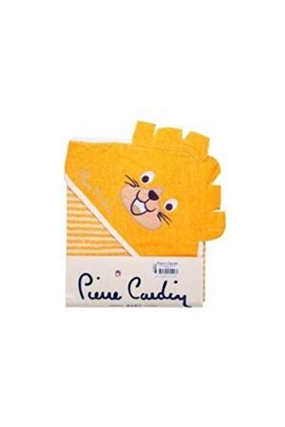 Pierre Cardin Sarı Aslan Pierre Cardin Kundak Banyo Havlusu 75x75 cm