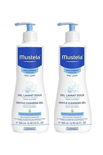 Mustela Saç & Vücut Şampuan 500 Ml   2 Adet Set