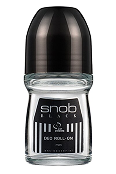 Snob Black Roll On 50 Ml - Erkek Roll On Deodorantı