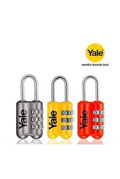 Yale Şifreli Asma Kilit Ince 23 Mm