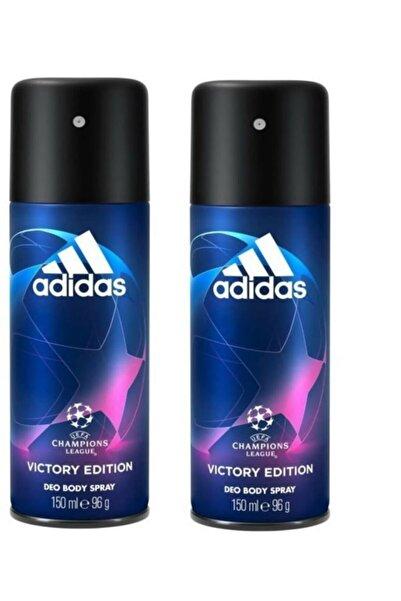 adidas Champıons Leauge Vıctory Edıtıon Bay Deodorant 150 Ml * 2 Adet