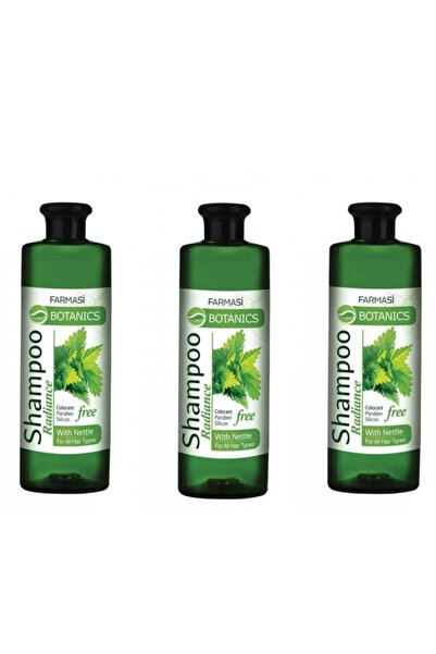 Farmasi Botanıcs Isırgan Otlu Parlaklık Veren Şampuan 3 Lü Set