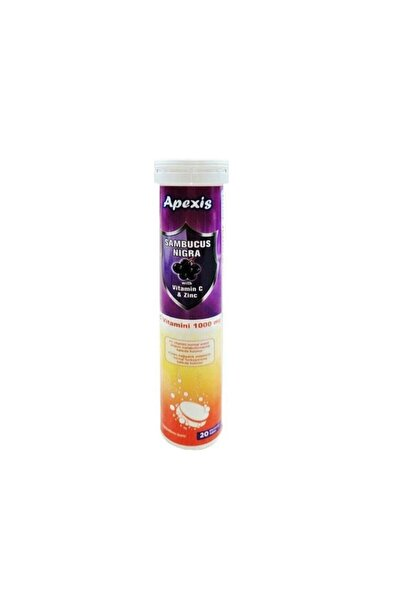 Apex Is Sambucus Nigra Vitamin C & Zinc 1000 Mg