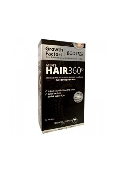 KRCDerma Hair 360 Men's Booster Growth Factors Hair Spray 50ml